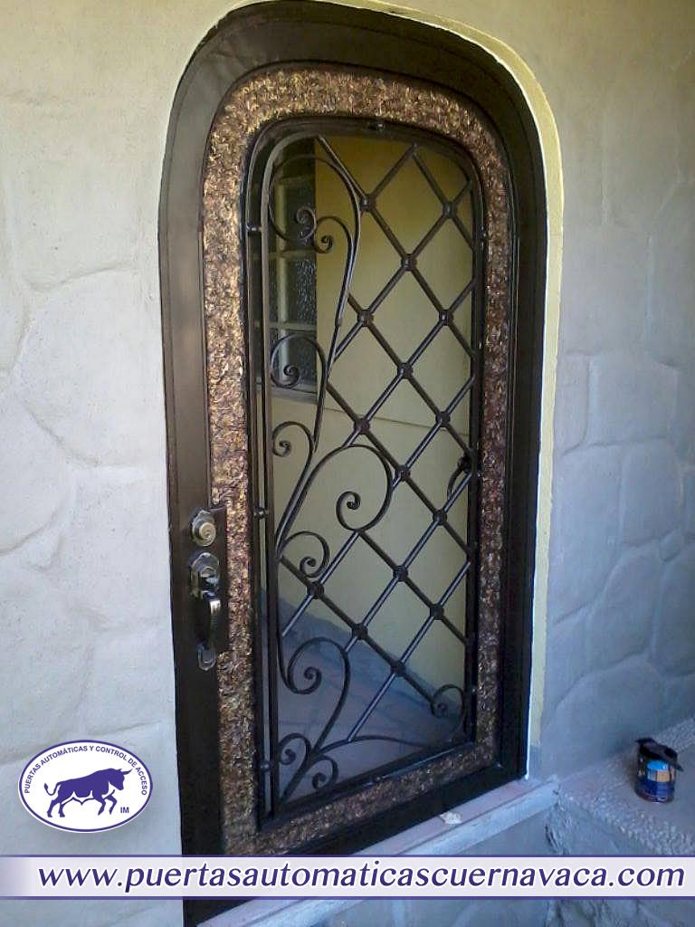 Herrer a en cuernavaca puertas rejas y m s - Puertas herreria ...